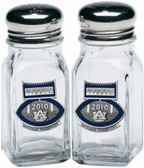 Auburn Tigers 2010 BCS National Champions Football Logo Salt and Pepper Shaker Set