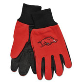 Arkansas Razorbacks Two Tone Gloves - Adult