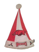 Arkansas Razorbacks Santa Hat