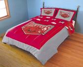 Arkansas Razorbacks Reversible Comforter Set (King)