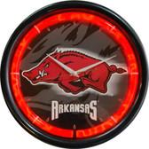 Arkansas Razorbacks Plasma Clock