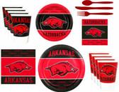 Arkansas Razorbacks Party Supplies Pack #2