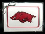 Arkansas Razorbacks Note Cards
