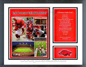 Arkansas Razorbacks Milestones & Memories Framed Photo