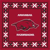 Arkansas Razorbacks Lunch Napkins