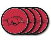 Arkansas Razorbacks Coaster Set - 4 Pack