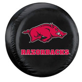 Arkansas Razorbacks Black Spare Tire Cover