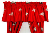 "Arkansas Razorbacks 84"" x 15"" Valance"