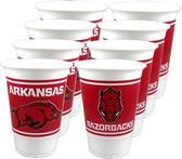 Arkansas Razorbacks 16 oz Cups