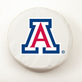 Arizona Wildcats White Tire Cover, Large