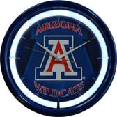 Arizona Wildcats Plasma Clock