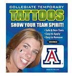 Arizona Wildcats Face Tattoos
