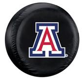 Arizona Wildcats Black Tire Cover - Standard Size