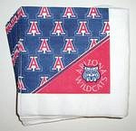 Arizona Wildcats Beverage Napkins