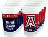Arizona Wildcats 16 oz. Cups