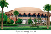 Arizona State University Lithograph