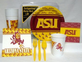 Arizona State Sun Devils Party Supplies Pack #1