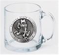 Arizona State Sun Devils Clear Coffee Mug Set