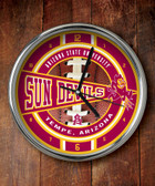 Arizona State Sun Devils Chrome Clock