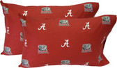 Alabama Printed Pillow Case - (Set of 2) - Solid