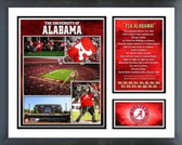 Alabama Crimson Tide University of Alabama Crimson Tide Milestone & Memories - 15 National Championships Framed Photo