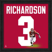 Alabama Crimson Tide Trent Richardson 20X20 Framed Uniframe Jersey Photo