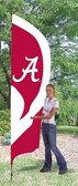 Alabama Crimson Tide Tall Team Flag
