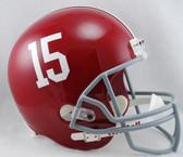 Alabama Crimson Tide Riddell Deluxe Replica Helmet - #15