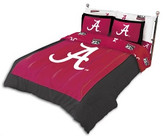 Alabama Crimson Tide Reversible Comforter Set (King)