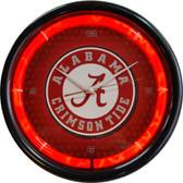Alabama Crimson Tide Plasma Clock