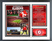Alabama Crimson Tide National Champions Milestones & Memories Framed Photo
