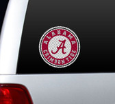 Alabama Crimson Tide Die-Cut Window Film - Large