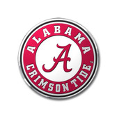 Alabama Crimson Tide Color Auto Emblem - Die Cut