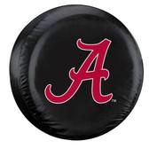 Alabama Crimson Tide Black Tire Cover, Large 2324558301