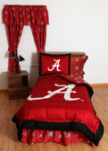Alabama Crimson Tide Bed in a Bag Twin - With Team Colored Sheets
