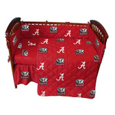 Alabama Crimson Tide Baby Crib Set