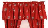 """Alabama Crimson Tide 84"""" x 15"""" Valance"""