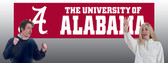 Alabama Crimson Tide 8' Banner