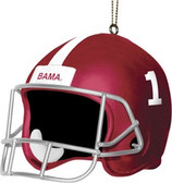 "Alabama Crimson Tide 3"" Helmet Ornament"