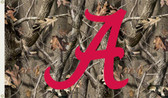 Alabama Crimson Tide 3 Ft. x 5 Ft. Flag w/Grommets - Realtree Camo Background