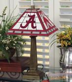 "Alabama Crimson Tide 23"" Mission Lamp"