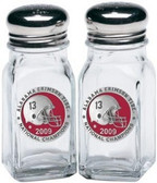 Alabama Crimson Tide 2009 BCS National Champions Salt and Pepper Shakers