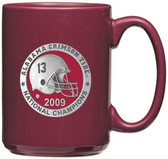 Alabama Crimson Tide 2009 BCS National Champions Red Coffee Mug