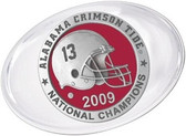 Alabama Crimson Tide 2009 BCS National Champions Paperweight Set