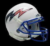 Air Force Falcons Schutt Mini Helmet - White Alternate Helmet #3