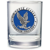Air Force Falcons Double Old Fashioned Glass Set