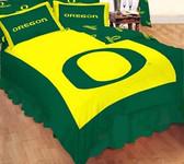 Oregon Ducks Reversible Comforter Set -Full