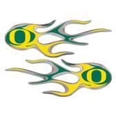 Oregon Ducks Micro Flames Graphics
