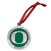 Oregon Ducks Logo Ornament