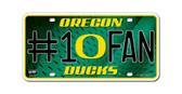 Oregon Ducks License Plate - #1 Fan